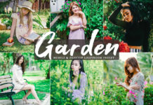 Free Garden Lightroom Preset