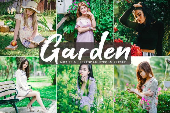 Free Garden Lightroom Preset