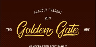 Free Golden Gate Duo Font