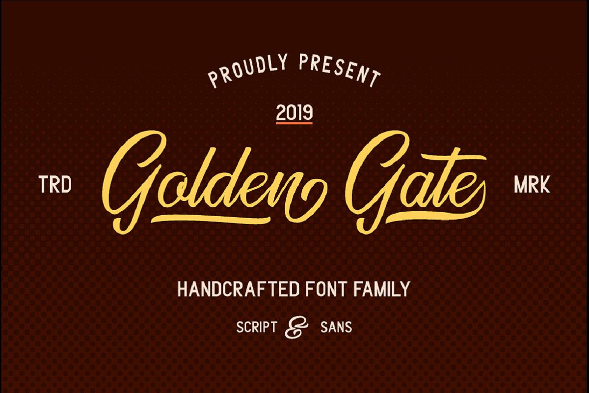 Free Golden Gate Duo Font