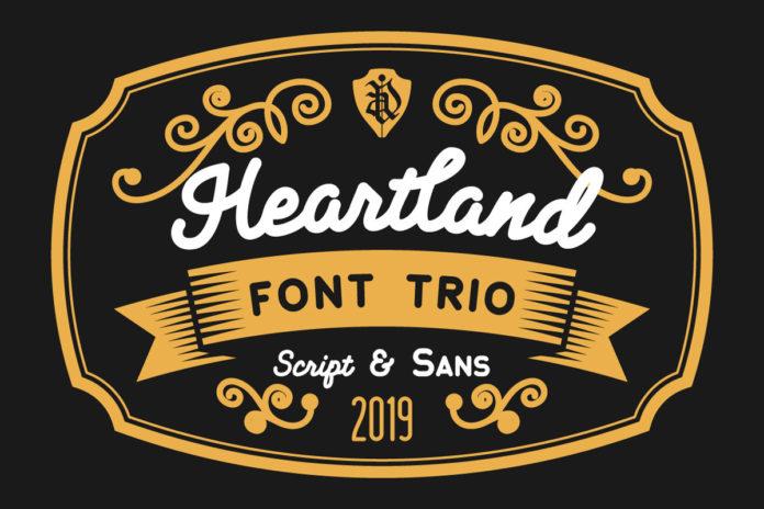 Free Heartland Sans Serif Font
