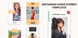 Free Instagram Canva Stories Templates
