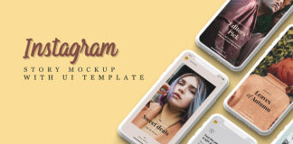 Free Instagram Story Mockup