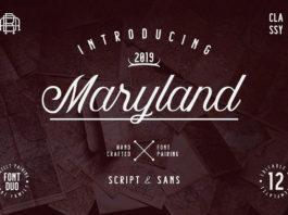 Free Maryland Handwritten Font