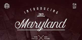 Free Maryland Handwritten Font