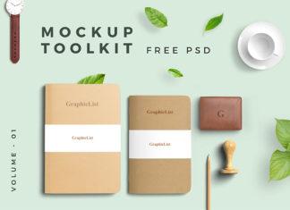 Free Mockup Toolkit Volume 01