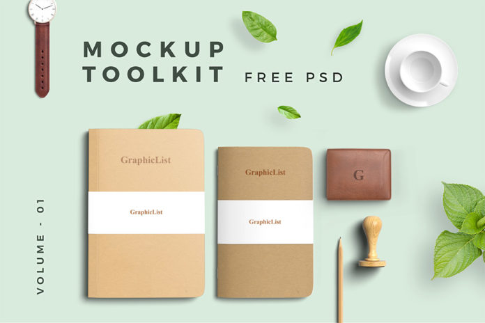 Free Mockup Toolkit Volume 01