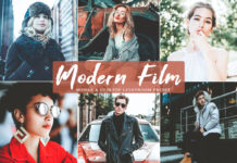 Free Modern Film Lightroom Preset