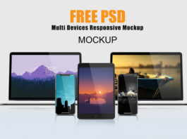 Free Multi Devices Responsive Mockup
