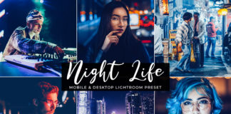 Free Night Life Lightroom Preset