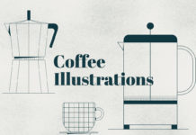 Free Outline Coffee Illustrations