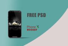 Free Phone X Mockup
