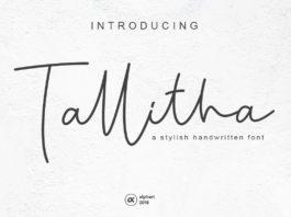 Free Tallitha Handwritten Font