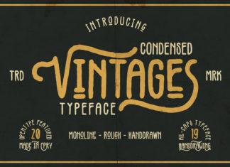 Free Vintages Display Font