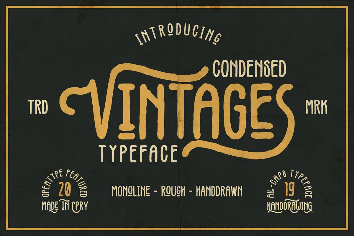 Free Vintages Display Font - Creativetacos
