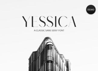 Free Yessica Sans Serif Font