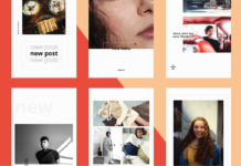 15 Free Clean Instagram Stories Templates