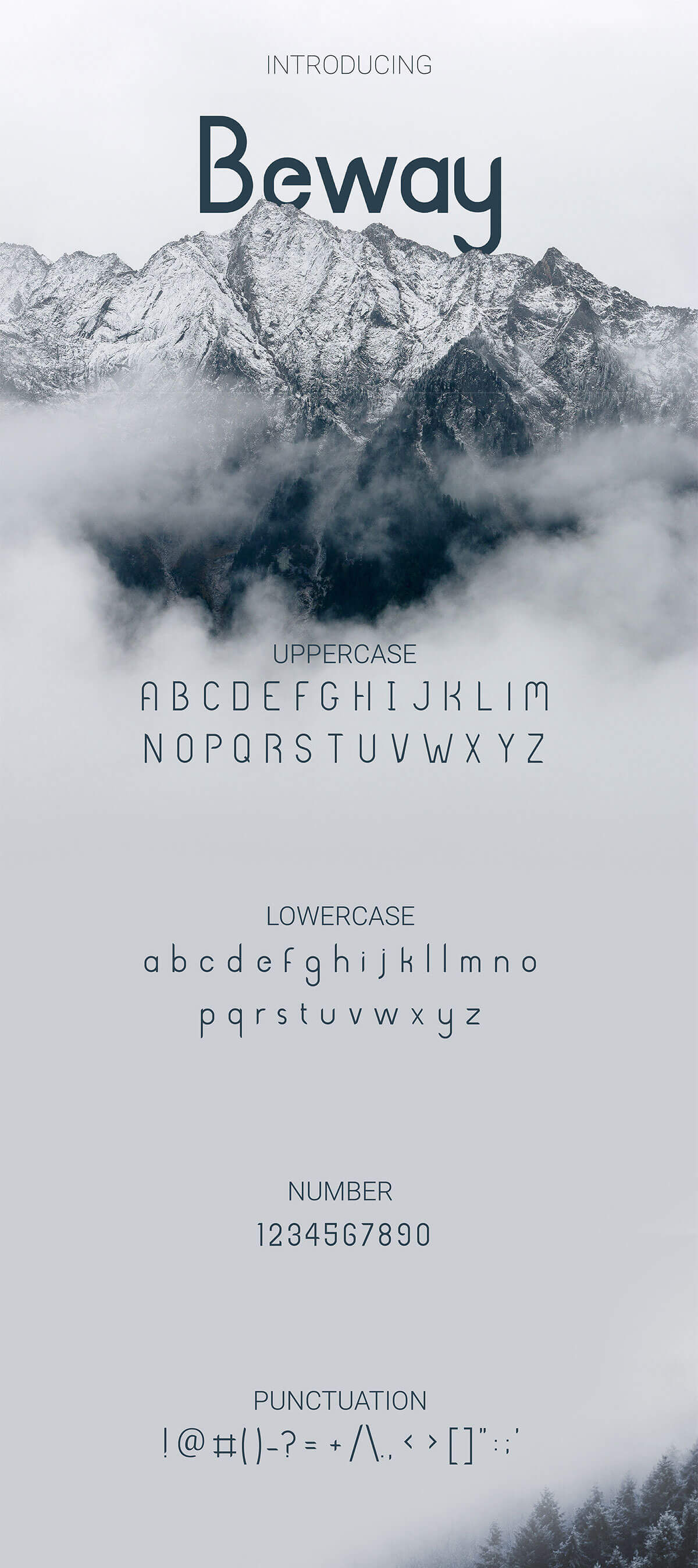 Free Beway Sans Serif Font