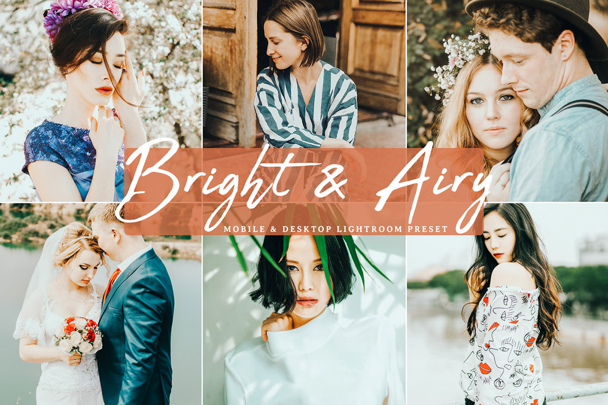 free bright  u0026 airy lightroom preset