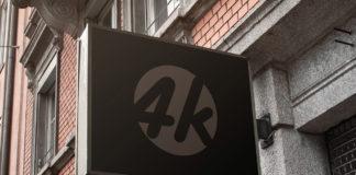 Free Cafe Sign Mockup
