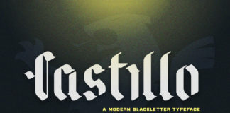 Free Castillo Display Font