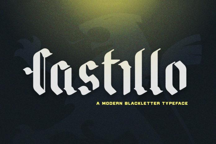 Free Castillo Display Font