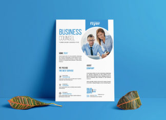 Free Corporate Business Flyer Template