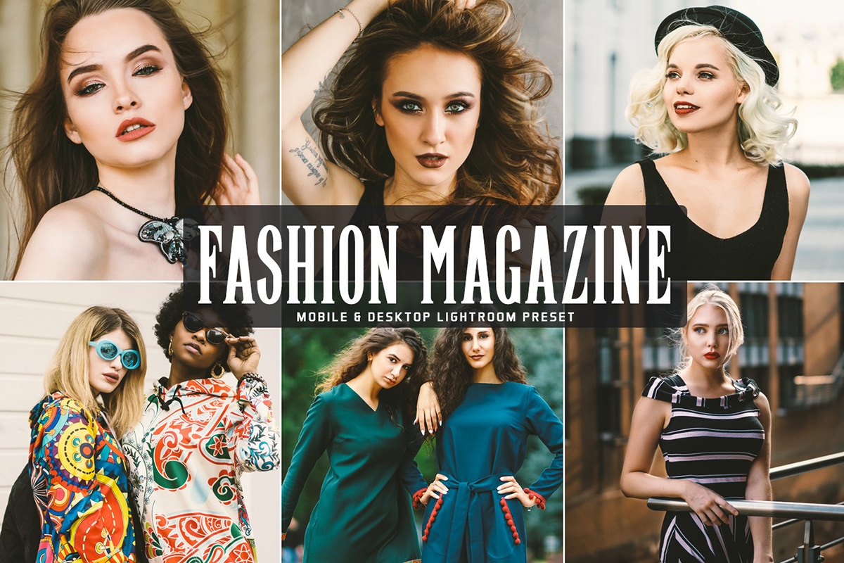 Free Fashion Magazine Lightroom Preset