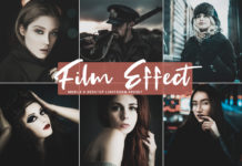 Free Film Effect Lightroom Preset