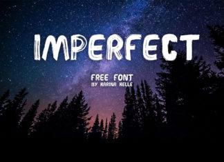 Free Imperfect Brush Font