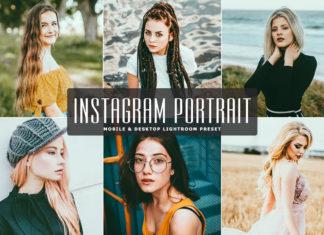Free Instagram Portrait Lightroom Preset