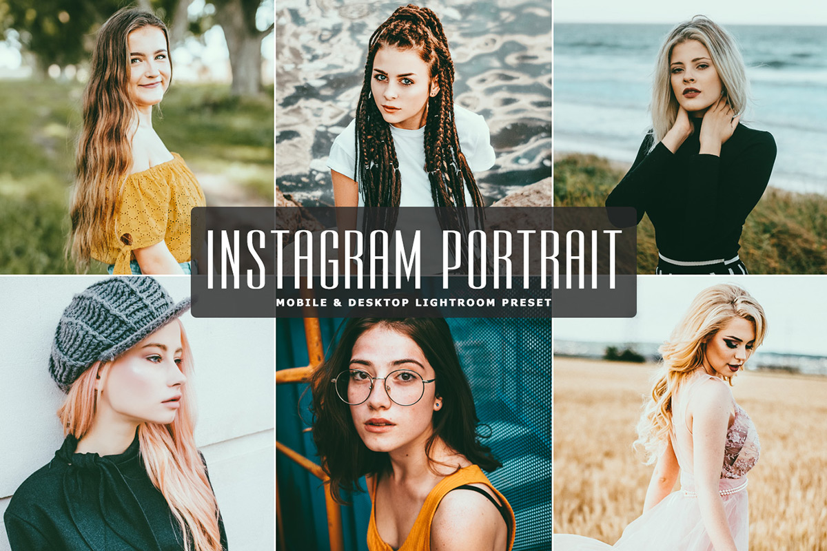 Free Instagram Portrait Mobile & Desktop Lightroom Preset