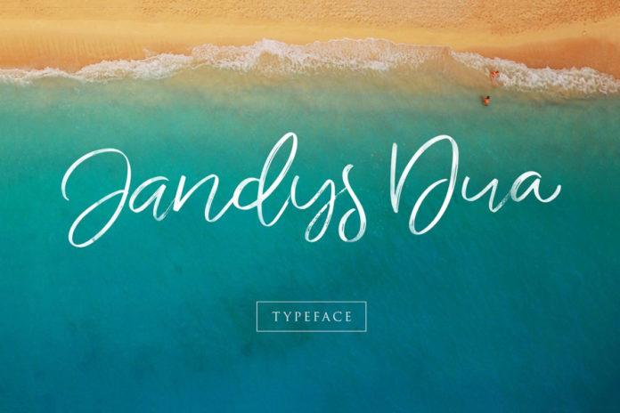 Free Jandys Handwritten Script Font