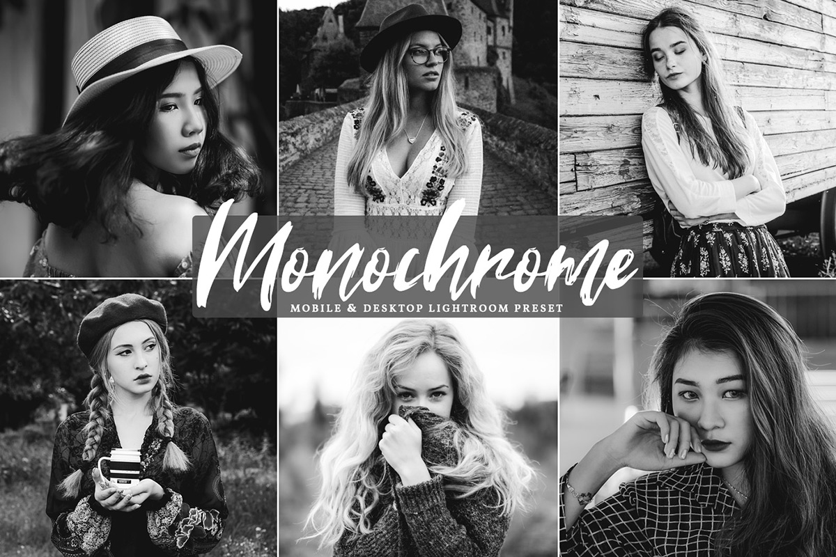 Free Monochrome Lightroom Preset