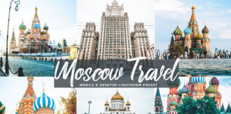Free Moscow Travel Lightroom Preset