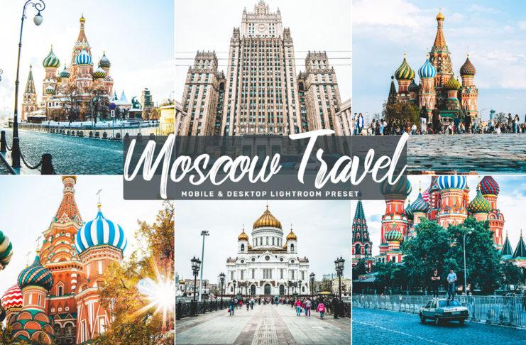 Free Moscow Travel Lightroom Preset