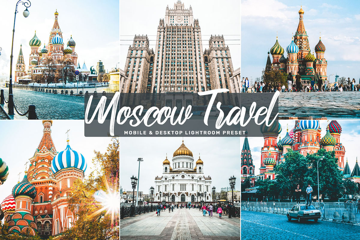 Free Moscow Travel Mobile & Desktop Lightroom Preset