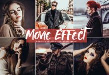 Free Movie Effect Lightroom Preset