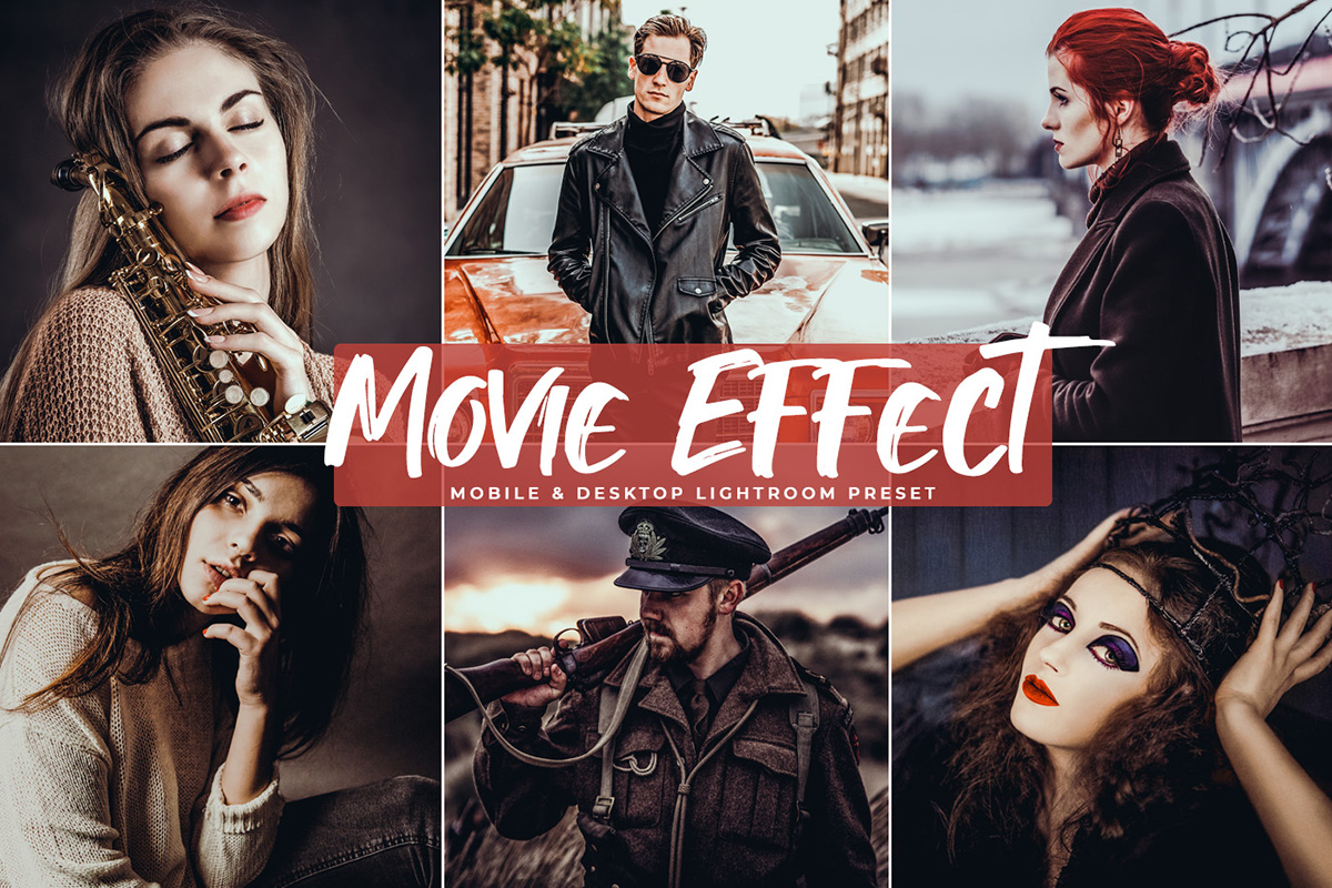 Free Movie Effect Lightroom Preset