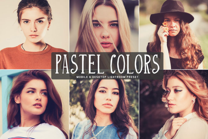 Free Pastel Colors Lightroom Preset