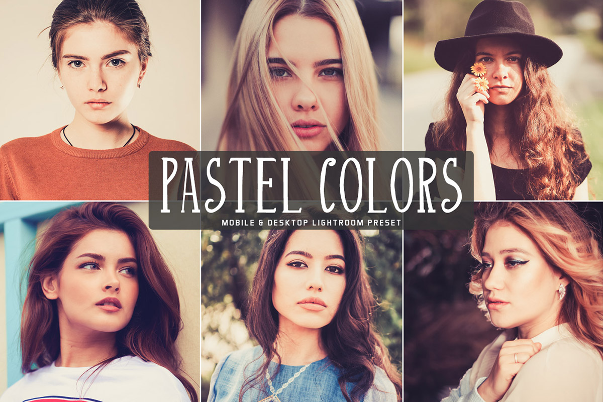 Free Pastel Colors Lightroom Preset
