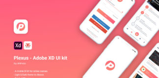 Free Plexus Adobe XD UI Kit