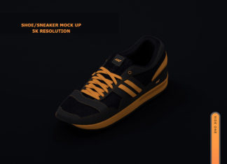 Free Shoe Sneakers Mockups