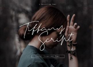 Free Tiffany Script Luxury Signature Font