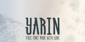 Free Yarin Handwriting Font Family