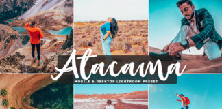 Free Atacama Lightroom Preset