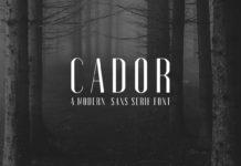 Free Cador Sans Serif Font