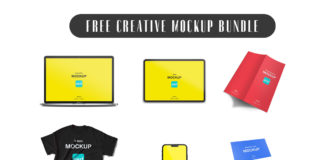 Free Creative Mockup Bundle