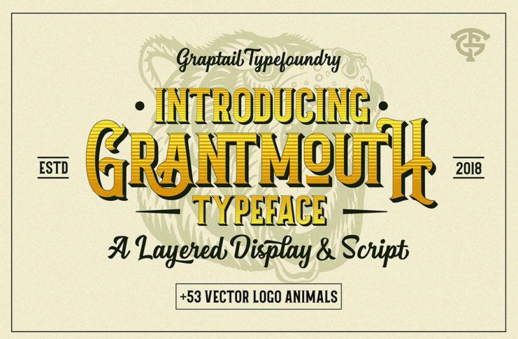 Free Grantmouth Display Font