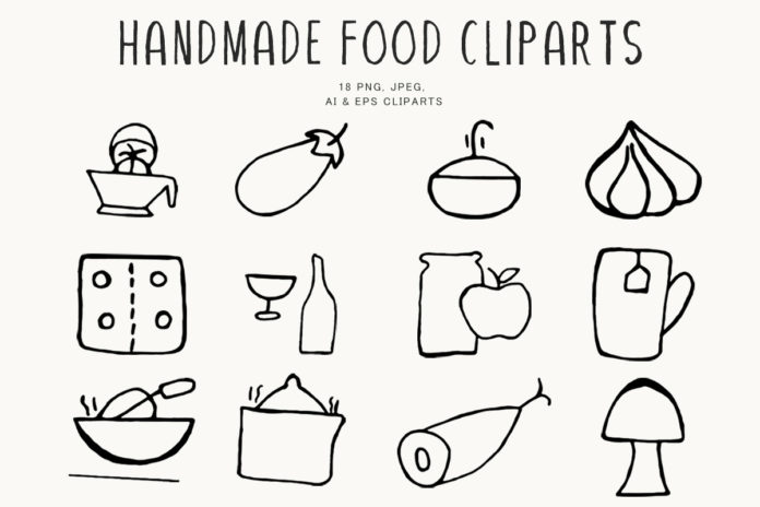 Free Handmade Food Clipart